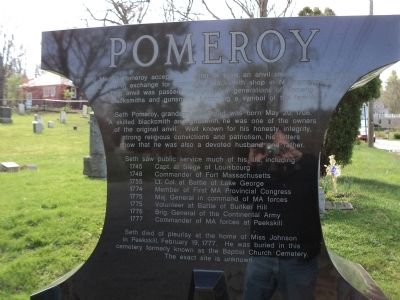 Pomeroy Marker image. Click for full size.