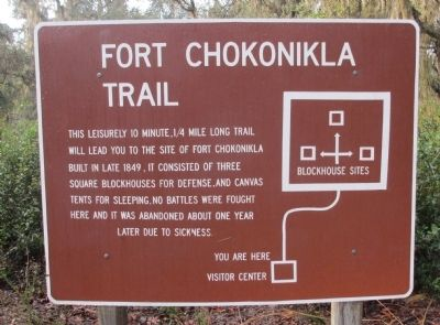 Fort Chokonikla Marker image. Click for full size.