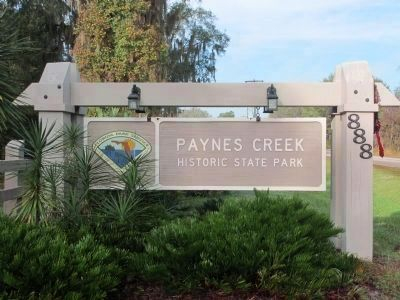 Paynes Creek Historic State Park image. Click for full size.