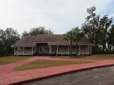 Paynes Creek Historic State Park Visitor Center image. Click for full size.