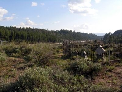 Children's Cemetery (Interstate 80 in background) image. Click for full size.