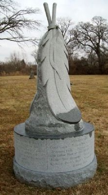 <i>Nimíipuu</i> (Nez Perce) Monument image. Click for full size.
