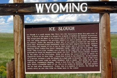 Ice Slough Marker image. Click for full size.