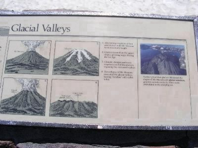 Right Side of the Glacial Valleys Marker image. Click for full size.