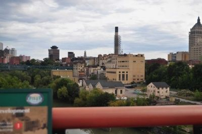 Genesee River Gorge: Extant Industrial Buildings image. Click for full size.