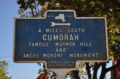 Cumorah Marker image. Click for full size.