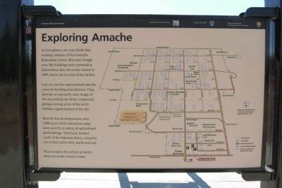 Amache Relocation Center Marker #4 - Exploring Amache image. Click for full size.