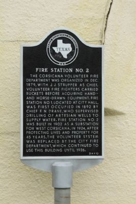 Fire Station No. 2 Marker image. Click for full size.