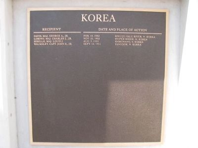 Korea - (4th Plaque) image. Click for full size.