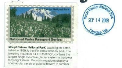 National Park Passport Cancellation Stamp image. Click for full size.