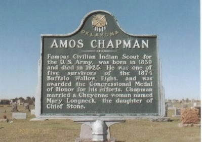 Amos Chapman Marker image. Click for full size.