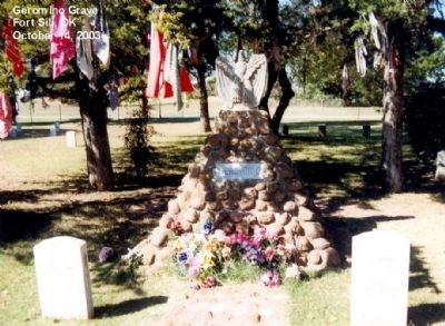 Grave of Geronimo image. Click for full size.