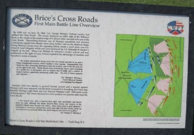 First Main Battle Line Overview Marker image. Click for full size.