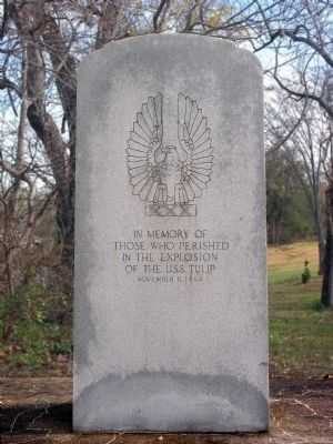 USS Tulip Monument Marker image. Click for full size.