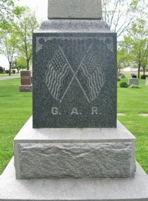 G. A. R. Monument image. Click for full size.