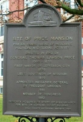 Site of Price Mansion Marker image. Click for full size.