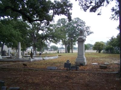 Colonel Clinton McKamey Winkler Marker in Oaklawn Cemetery image. Click for full size.