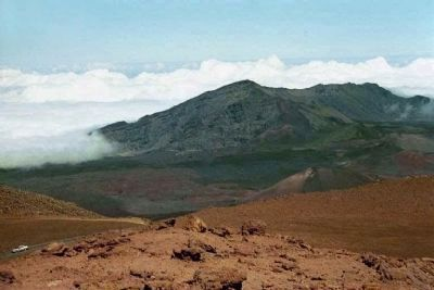 Haleakala National Park, the uninhabited regions above the clouds, as mentioned image. Click for full size.
