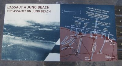The Assault on Juno Beach image. Click for full size.