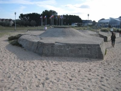 German Bunker at Juno Beach image. Click for full size.