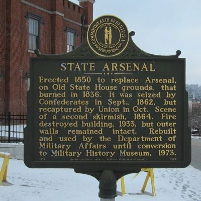 State Arsenal Marker image. Click for full size.