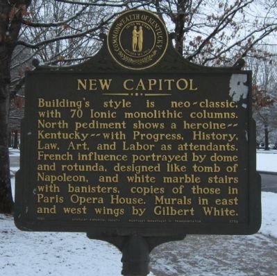 New Capitol Marker image. Click for full size.