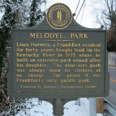 Melodye Park Marker image. Click for full size.