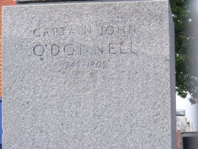 Captain John O'Donnell Marker image. Click for full size.