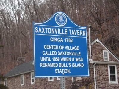 Saxtonville Tavern Marker image. Click for full size.