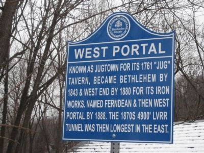 West Portal Marker image. Click for full size.