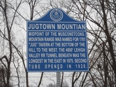 Jugtown Mountain Marker image. Click for full size.