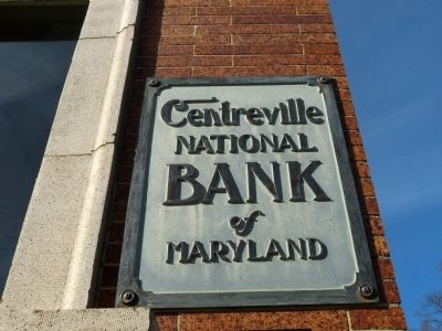The Centreville National Bank image. Click for full size.