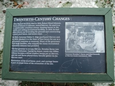 Twentieth-Century Changes Marker image. Click for full size.