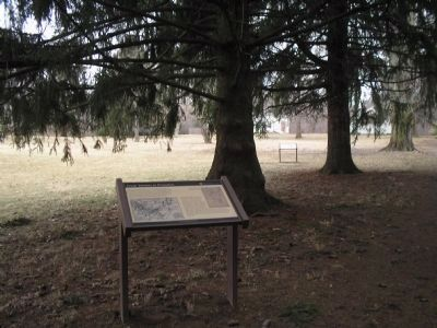 Marker on the Princeton Battlefield image. Click for full size.