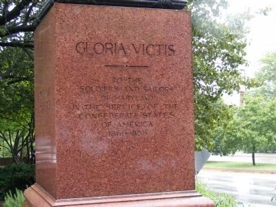 Gloria Victis Marker image. Click for full size.
