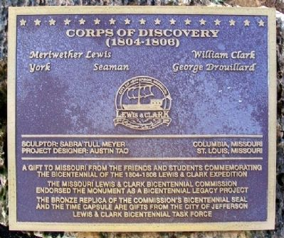 Corps of Discovery Marker image. Click for full size.