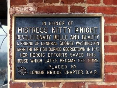 Mistress Kitty Knight Marker image. Click for full size.