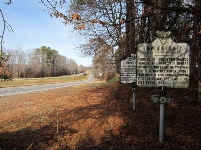 Boydton Plank Road (facing north) image. Click for full size.