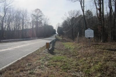 Boydton Plank Road (facing south) image. Click for full size.