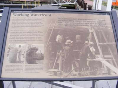Working Waterfront Marker image. Click for full size.