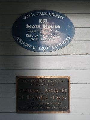 Scott House Marker image. Click for full size.