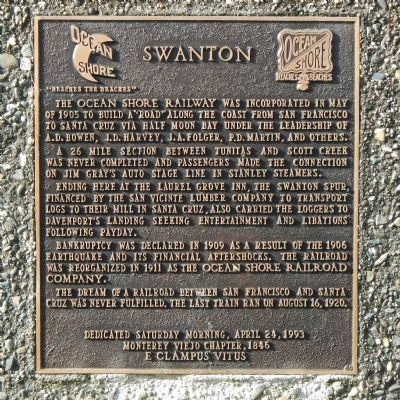 Swanton Marker image. Click for full size.