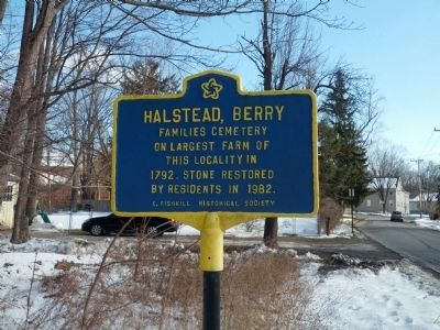 Halstead Berry Marker image. Click for full size.