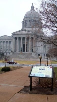 The State Capital During The Civil War Marker image. Click for full size.