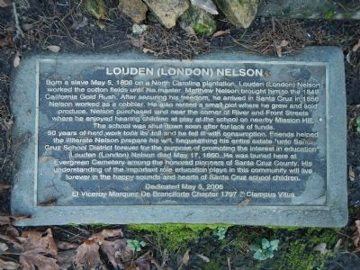 Louden (London) Nelson Marker image. Click for full size.