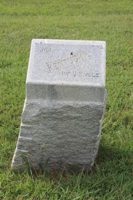 3rd Kentucky Infantry Regiment (US Volunteers) Marker image. Click for full size.