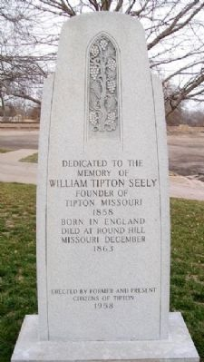 William Tipton Seely Monument image. Click for full size.