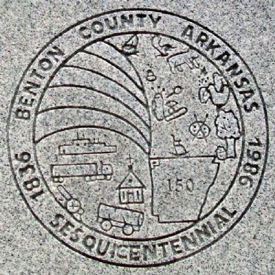 Sesquicentennial Trail of the Centuries Marker image. Click for full size.