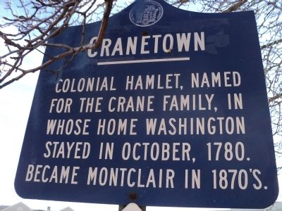 Cranetown Marker image. Click for full size.