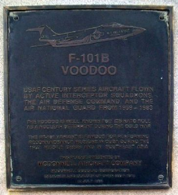 F-101B Voodoo Marker image. Click for full size.